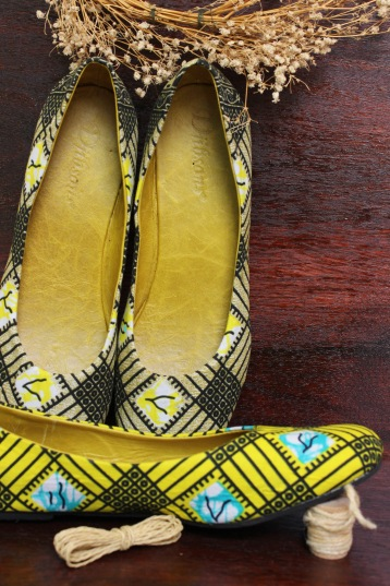 Line up and choose the flats that best reflect your colours
