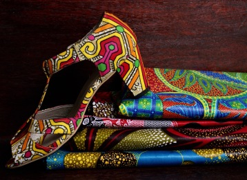 An endless choice of beautiful, African-themed fabrics